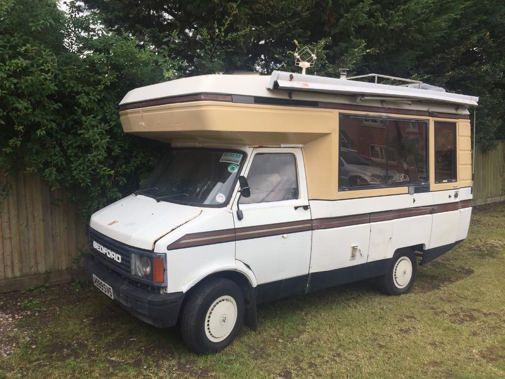Bedford CF Campervan - Totally original 2.3 Petrol Manual - No MOT -  Bargain Price