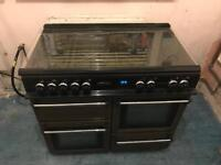 LEISURE 100CM DUEL FUEL RANGE COOKER !!!