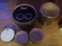 Pearl EXR 5 piece Drum Kit