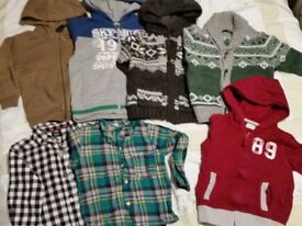 Bundle of boys clothes 2-5 years