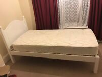 Two Single beds and one mattress for FREE