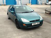 2001 1.6 petrol focus