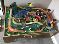 Massive train table and extras