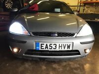 Ford Focus silver front bumper - complete