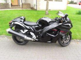 Suzuki Hayabusa RL2 Mint bike. Dry miles only. Standard UK bike. One mature owner.