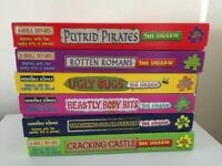 Horrible Histories Puzzles - various themes