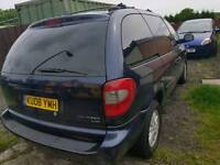 Chrysler voyager lpg spares or repairs