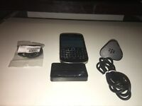 Unlocked BlackBerry Bold 9900 Immaculate + Accessories: USB Cable, Plug AND Desktop charger. Awesome