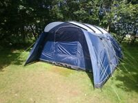 Outwell Whitecove 6 Tent with Groundsheet Footprint and Carpet