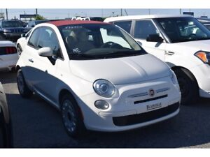 2015 Fiat 500C CONVERTIBLE MAGS A/C