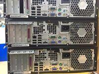 "HPElite 8100 SFF PC intel core i5 Speed-3.2GHz 8GB RAM 1 TB Hard Drive 17"" monitor,mouse & keyboard"