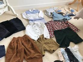 Bundle boys designer romany traditional clothes mayoral pretty original granlei Rachel riley