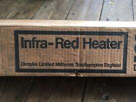 Infa red bathroom heater