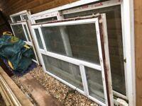 Aluminium windows various sizes
