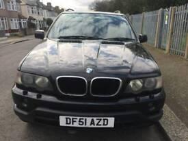 BMW X5 2001 DIESEL AUTOMATIC £2495 ONO