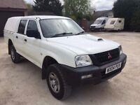 *** 2004 MITSUBISHI L200 DOUBLE CAB 4X4 PICK UP ***