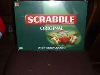 scrabble original board game brand new