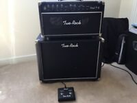 Two Rock Coral 22 head with Two Rock 1x12 cabinet. NO TRADES.