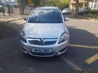 Vauxhall Zafira 1.7 TD- CHEAP TO INSURE & TAX VERY ECONOMICAL CAR NO WORK REQUIRED