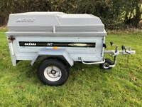 Daxara 147 Trailer With ABS Hard Top Lid Camping Carboot Trailor 600 KG Halfords