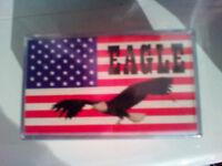SEALED BOX OF 5, 1985 VINTAGE C-15 RARE EAGLE BRAND CASSETTE TAPES, DATA CASSETTE