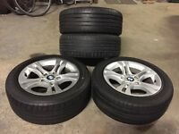 "16"" BMW Alloys with 205/55R16 91V Rated Tyres"
