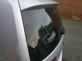Seat alhambra privacy glass TINTED