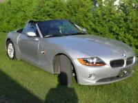 2004 BMW Z4 roadster Convertible