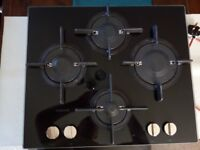 NEW HOTPOINT WHIRLPOOL GAS HOB - AS NEW (Used 4 times)