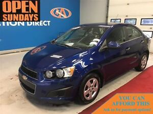 2013 Chevrolet Sonic LT Auto AC! ONLY 63325KM! FINANCE NOW!