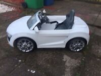 Kids battery powered Audi