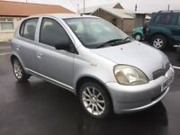 STUNNING TOYOTA YARIS COLOUR COLLECTION LOW MILEAGE SERVICE HISTORY RELIABLE CAR PX WELCOME £995