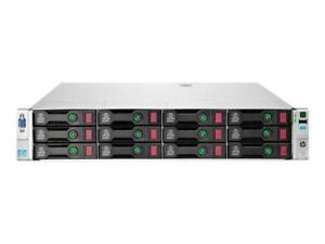 HP DL380P GEN8 2 X 4 CORE 32/64/128GB  12-LFF  SAN / STORAGE 9 DRIVE 4TB 36TB
