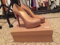 Christian Louboutin Bianca Nude Shoes