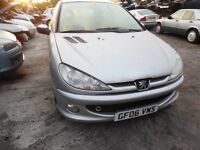 2006 PEUGEOT 206 SPORT S (MANUAL PETROL)(FOR PARTS ONLY)