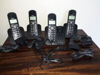Philips CD155 answerphone with 4 cordless handsets and all cables & plugs. Excellent condition.
