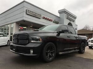2015 Ram 1500 SPORT,LEATHER,20'S,AIR SUSPENSION LOADED!