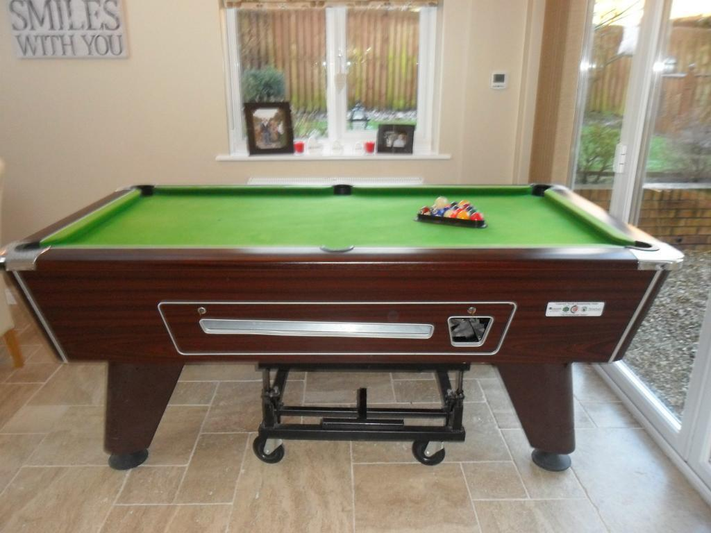 pool table supreme 6 x 3 in crook county durham gumtree
