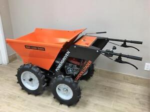 Honda Power wheelbarrow, Concrete buggy, Dolly, Mini Truck, Mini dumper  Chain Drive 4X4 only $2399