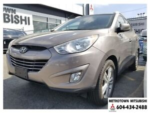 2012 Hyundai Tucson GLS; Local BC vehicle! LOW KMS!
