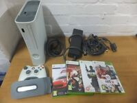 Xbox 350 arcade 20gb 4 games HDMI