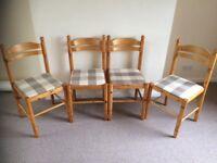 4 Dinning / Kitchen Chairs