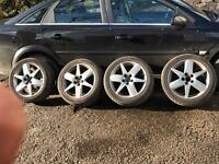 Saab 9-3 alloy wheels also for Vauxhall