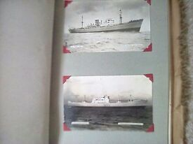 Postcard photos ships of the 1950s