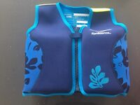 Float vest swimming 5/6/7yrs old. Worn once. Excellent condition.
