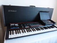 Roland JX3P with PG200 and original case in superb condition