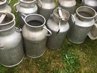 Great condition milk churns