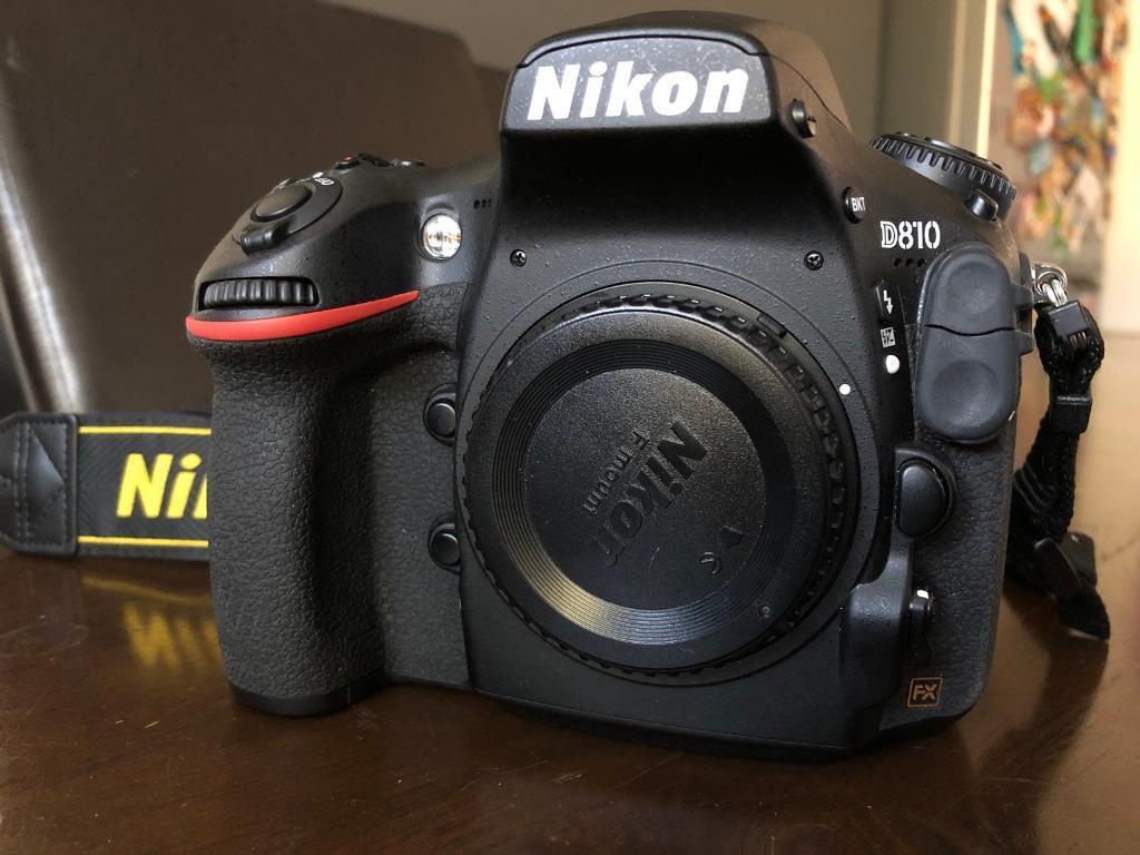 Nikon D810 Digital Slr 363mp Camera Body Only In Alvaston