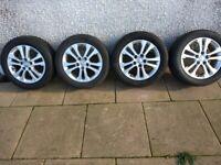 """16"""" Kia alloys new tyres"""