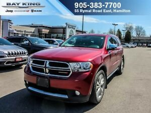 2013 Dodge Durango CREW PLUS, AWD, GPS NAV, SUNROOF, DVD, BACKUP